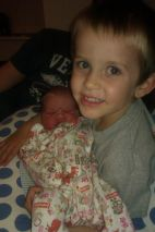 Loving being a big brother!