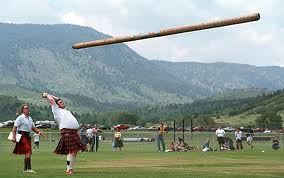 A spot of caber tossing anyone?