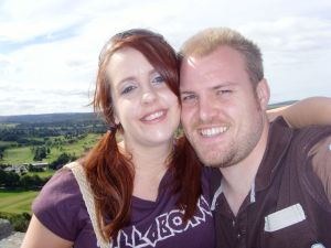 Enjoying Stirling when there was just the 2 of us!
